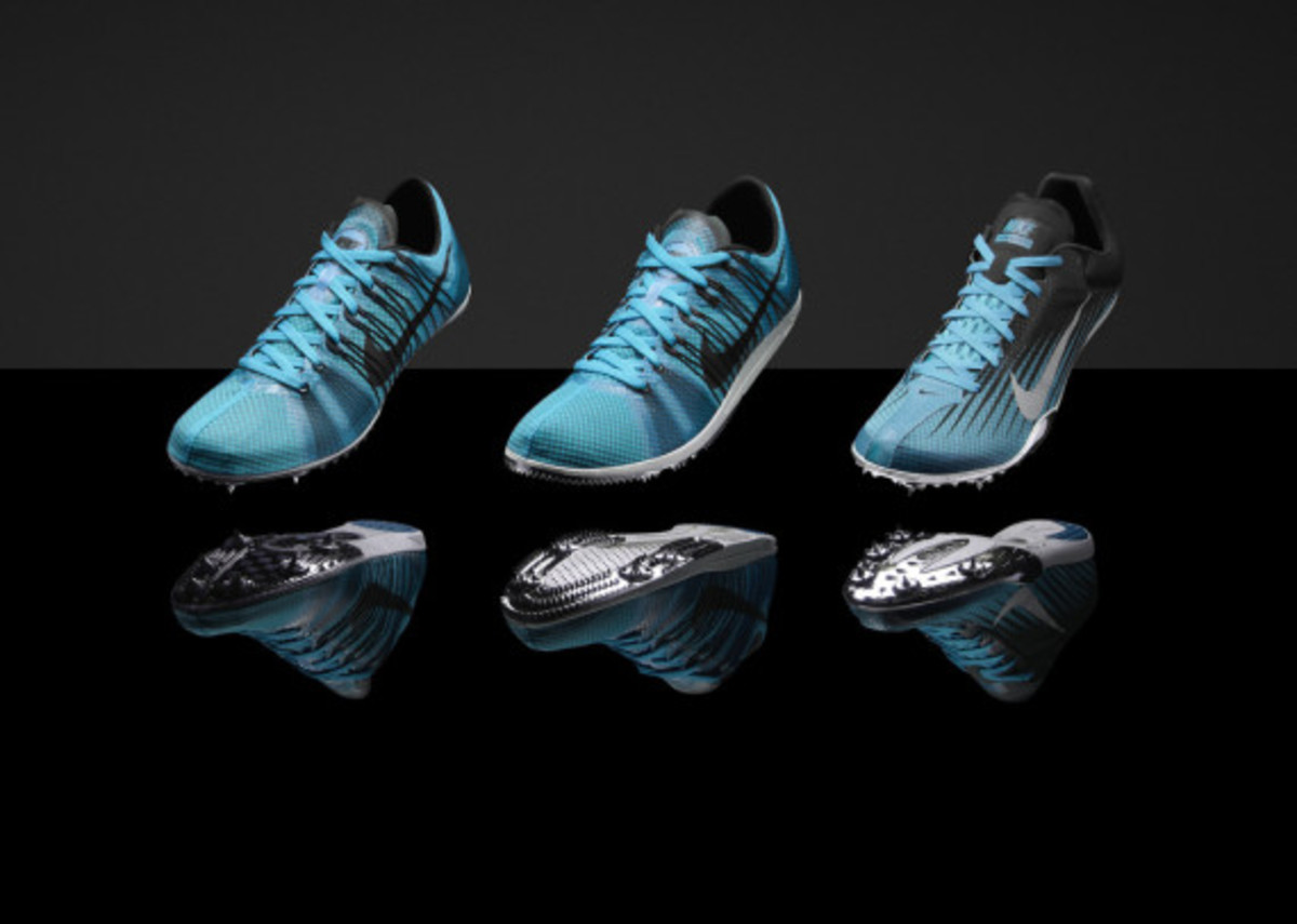 """Nike """"Gamma Blue"""" & """"Pink Foil"""" Collections for Track & Field Championships in Moscow - 7"""