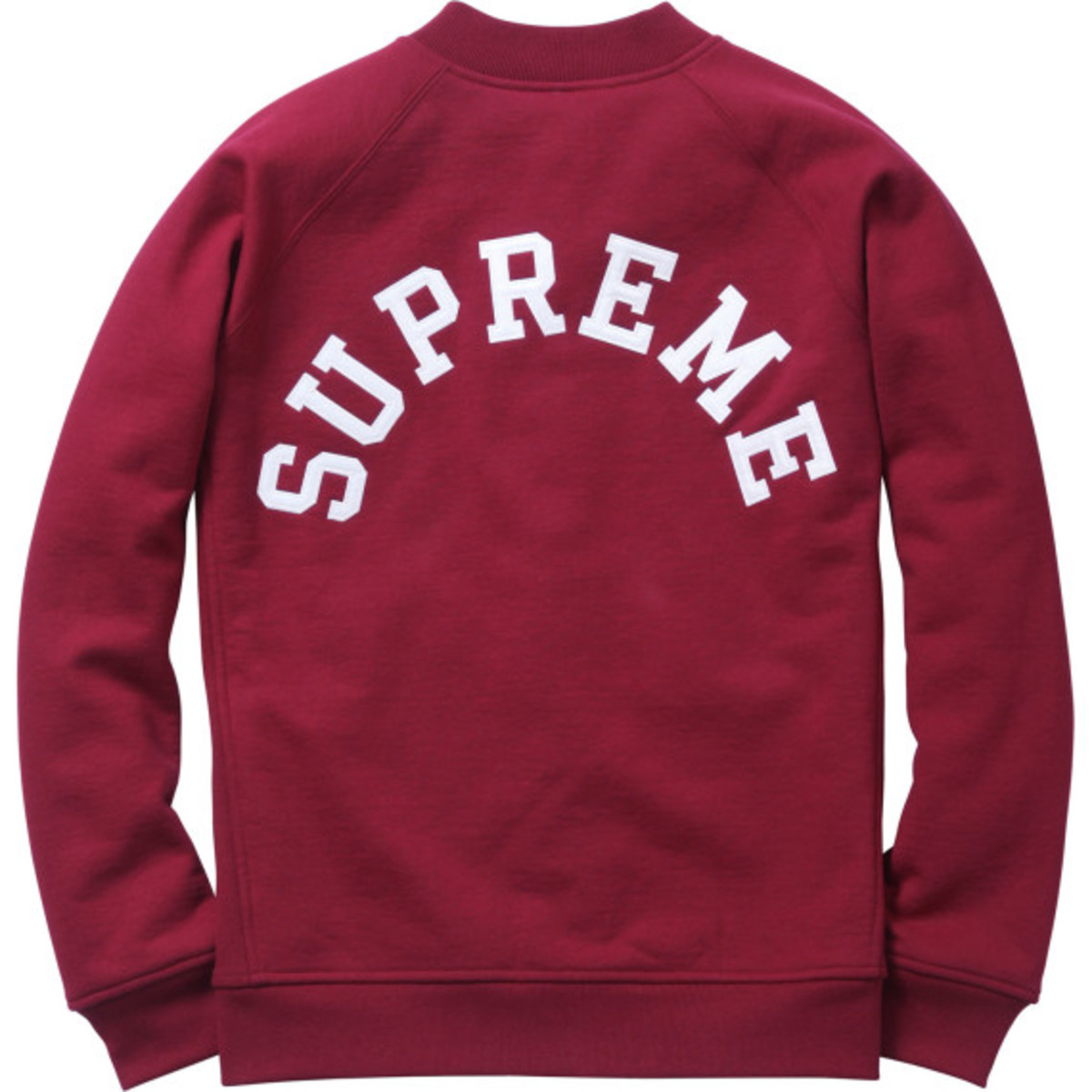 Supreme - Snap Front Arc Logo Sweatshirt | Available Now - 6