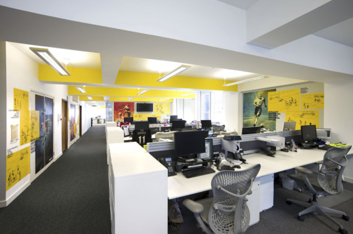 Nike UK Headquarters - Newly Redesigned By Rosie Lee - 15