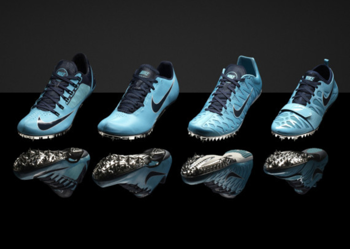 """Nike """"Gamma Blue"""" & """"Pink Foil"""" Collections for Track & Field Championships in Moscow - 5"""