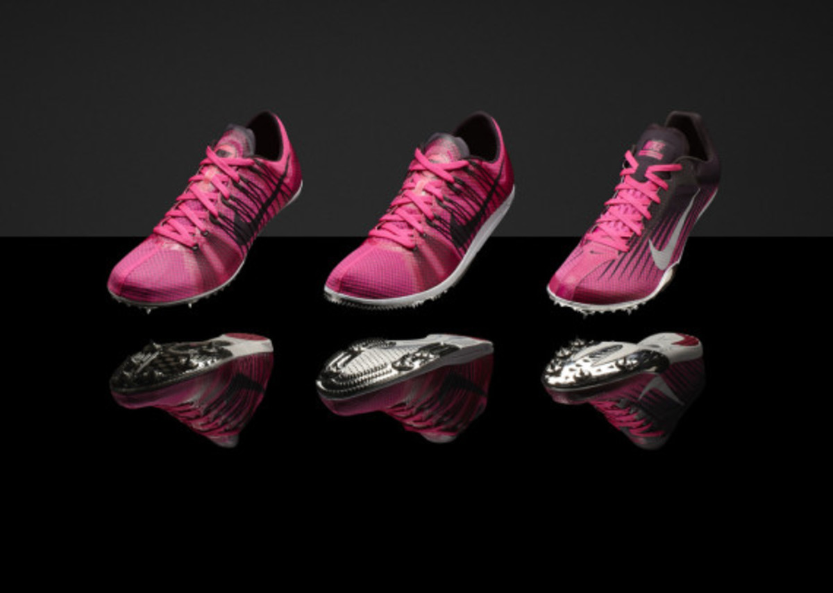 """Nike """"Gamma Blue"""" & """"Pink Foil"""" Collections for Track & Field Championships in Moscow - 2"""