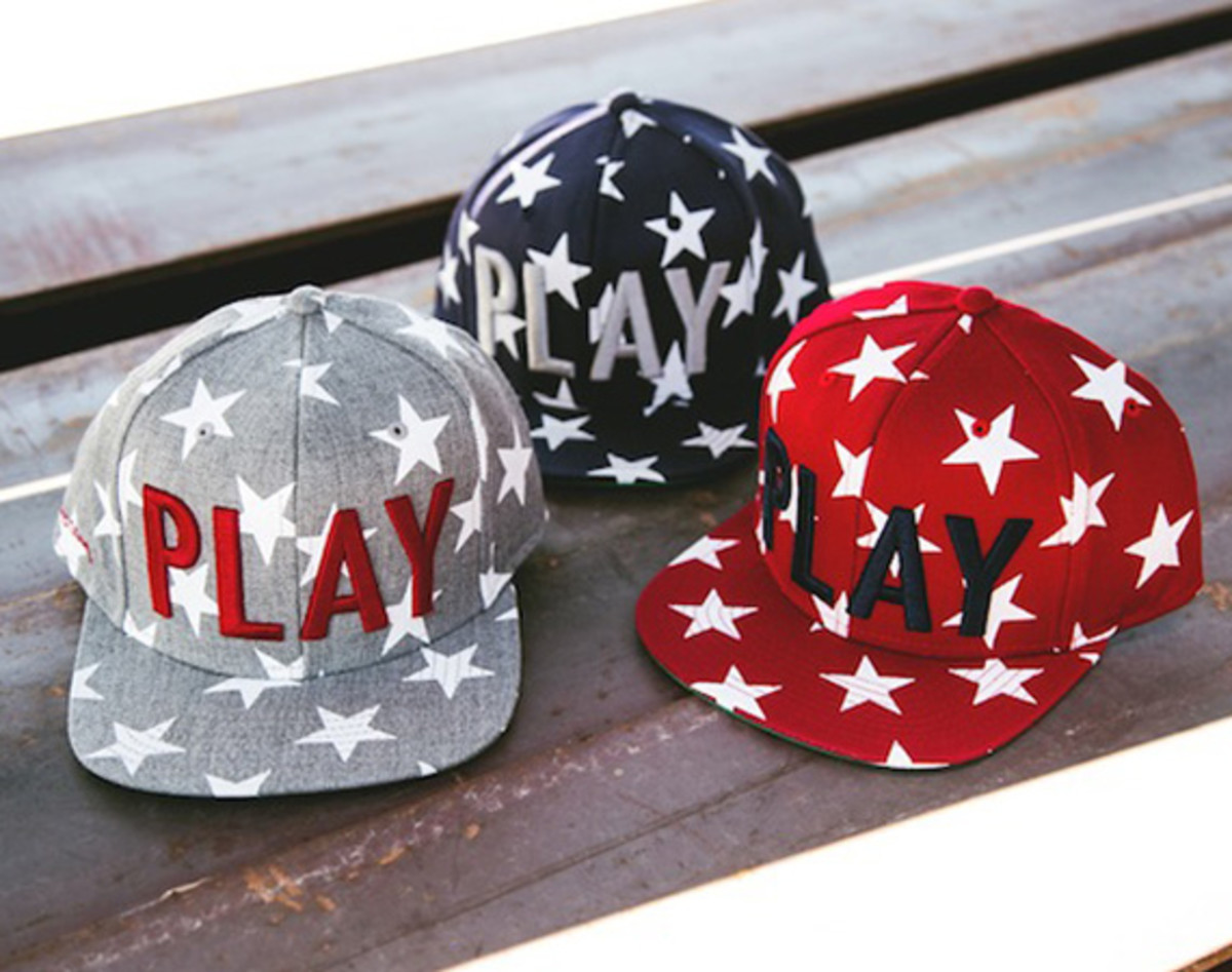 """Play Cloths - """"Past Time"""" Snapback Caps - 0"""