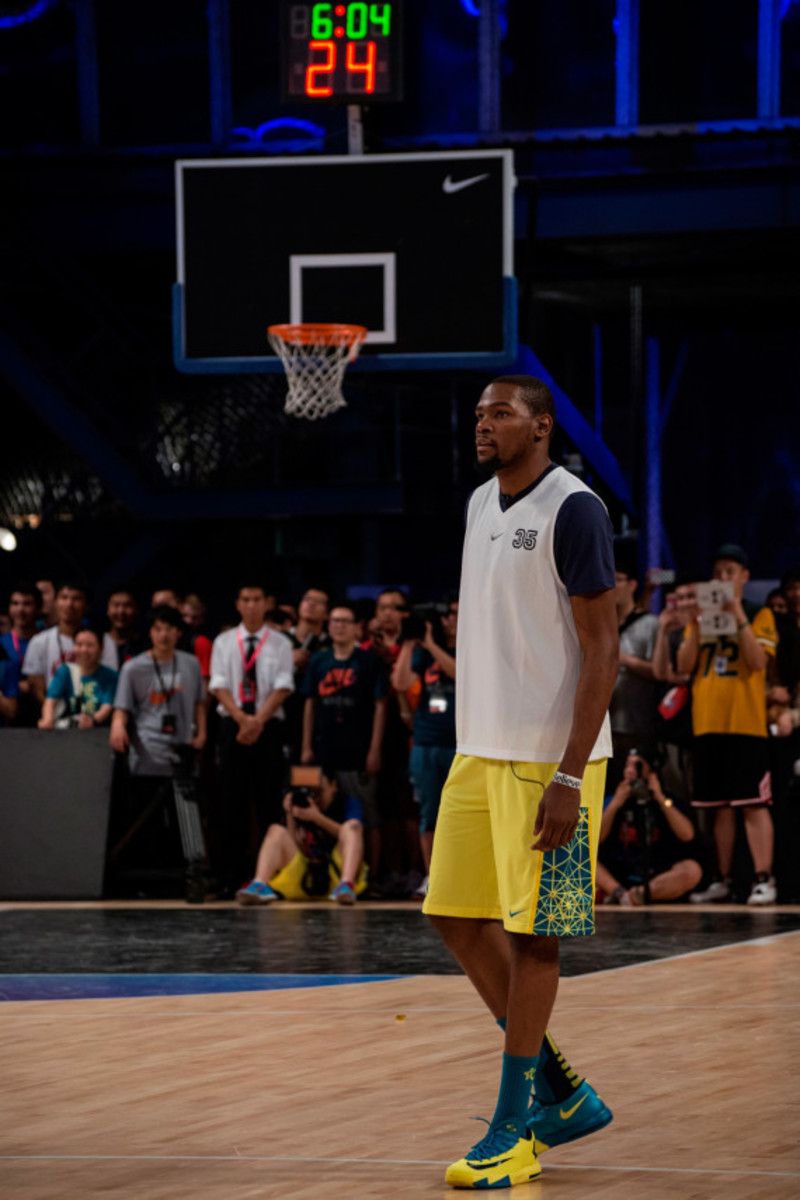 Nike Summer Nights Shanghai - Opening Ceremony with Kevin Durant and Li Na - 8