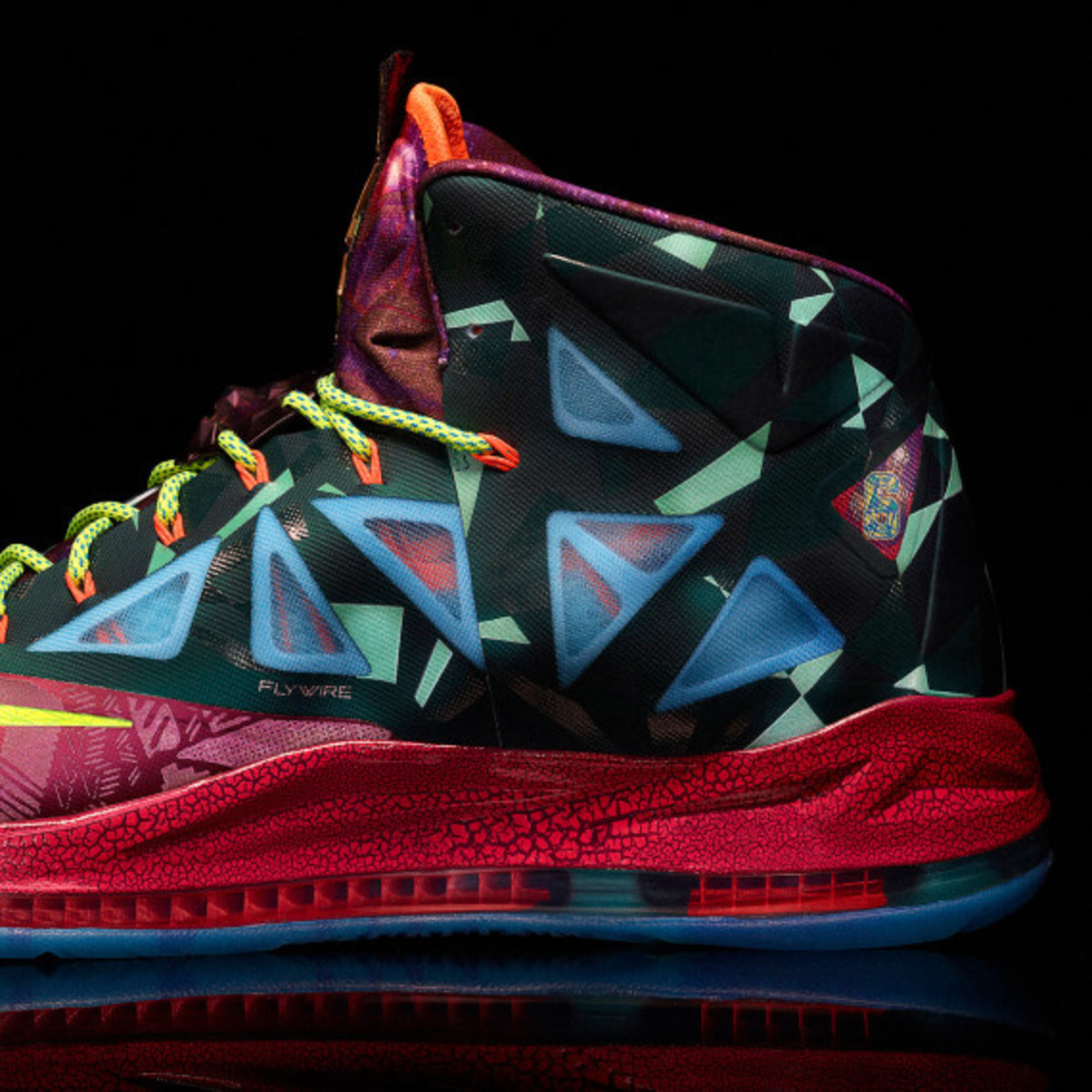 "Nike LeBron X ""MVP"" – Celebrating LeBron James' 4th NBA Most Valuable Player Award - 5"