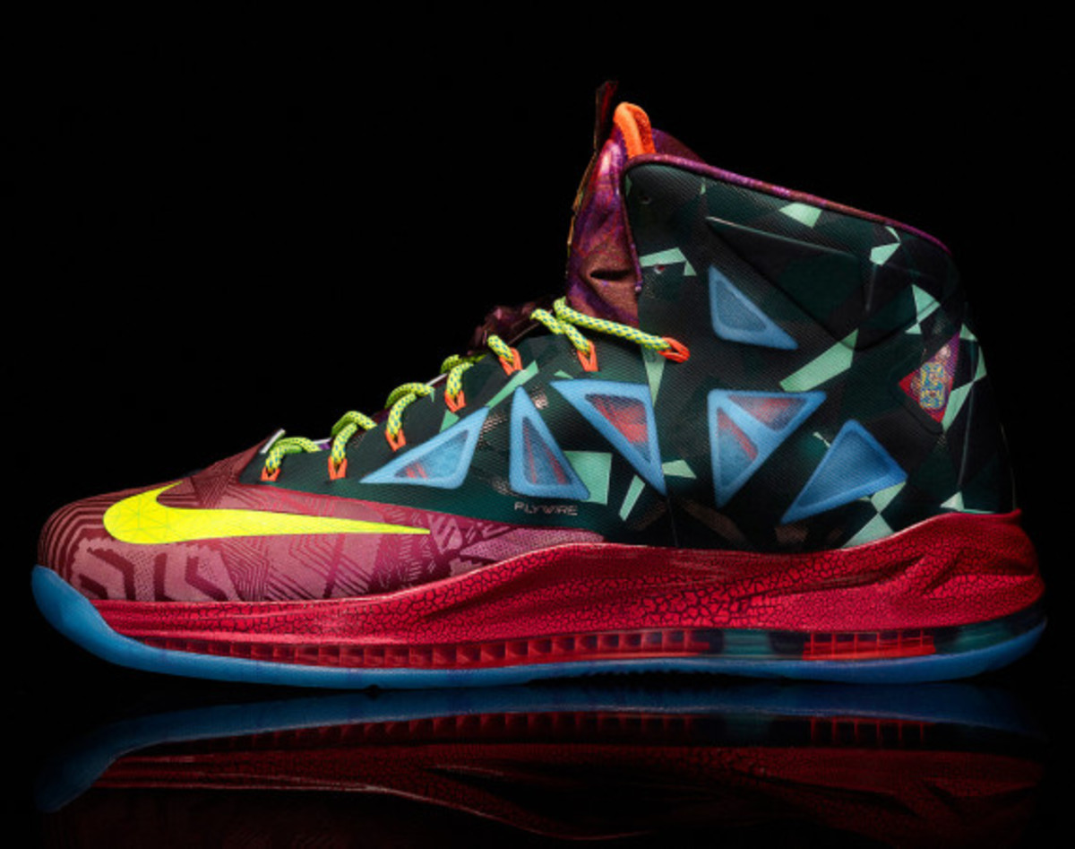 "Nike LeBron X ""MVP"" – Celebrating LeBron James' 4th NBA Most Valuable Player Award - 4"