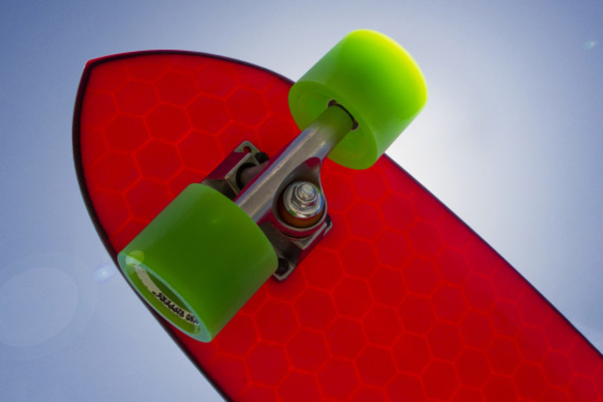 Hydroflex Skateboard - Hi-Tech Composite Skateboards - 14