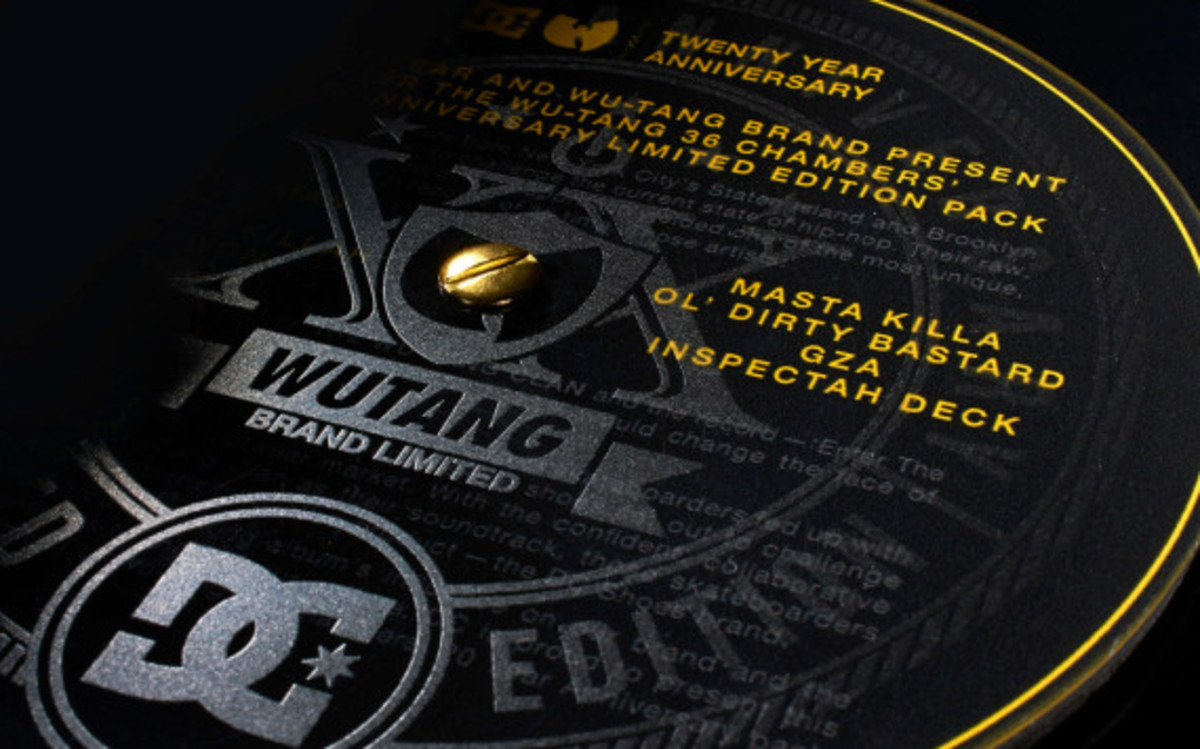 "DC Shoes x Wu-Tang Clan – ""Enter the Wu-Tang: 36 Chambers"" 20th Anniversary Collection 