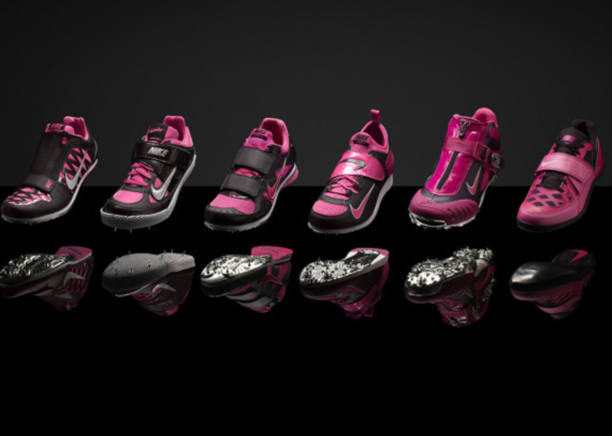 """Nike """"Gamma Blue"""" & """"Pink Foil"""" Collections for Track & Field Championships in Moscow - 4"""