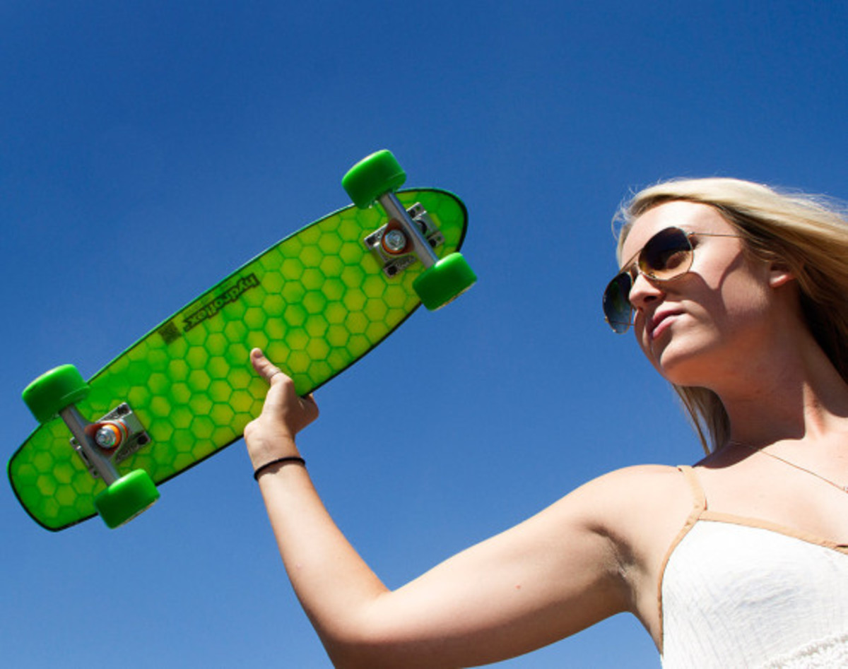 Hydroflex Skateboard - Hi-Tech Composite Skateboards - 18