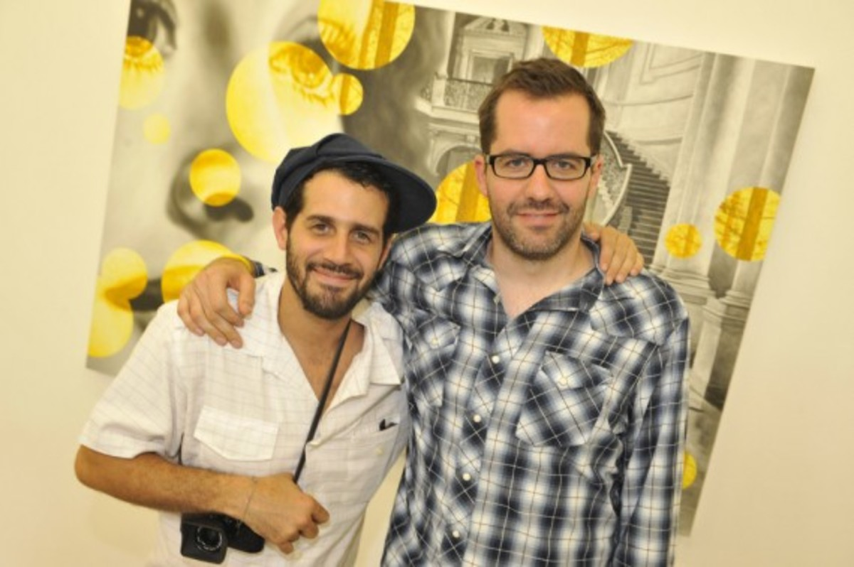Nike x LIVESTRONG - STAGES Art Exhibition Opening Event - Jose Parla & Eric White