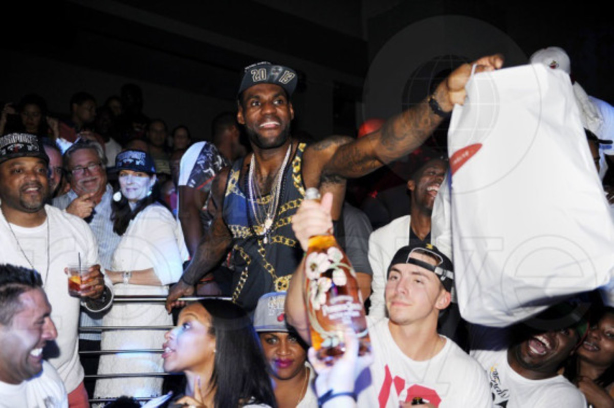 Miami Heat - 2013 NBA Championship After Party at STORY | Event Recap - 32