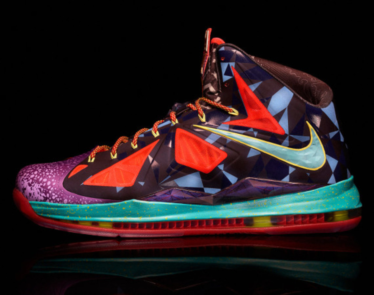 "Nike LeBron X ""MVP"" – Celebrating LeBron James' 4th NBA Most Valuable Player Award - 1"