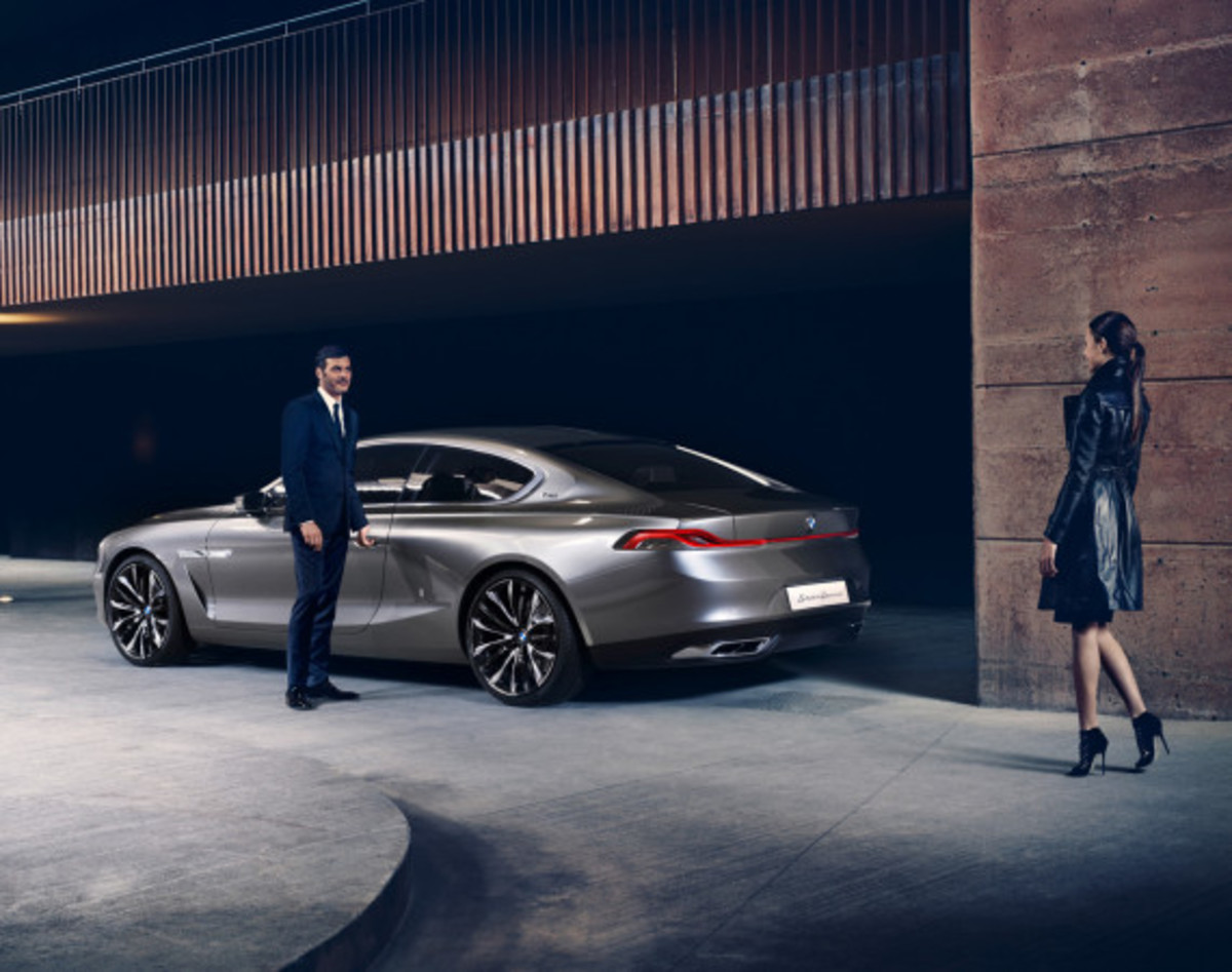 BMW Pininfarina Gran Lusso Coupé - Officially Unveiled - 10