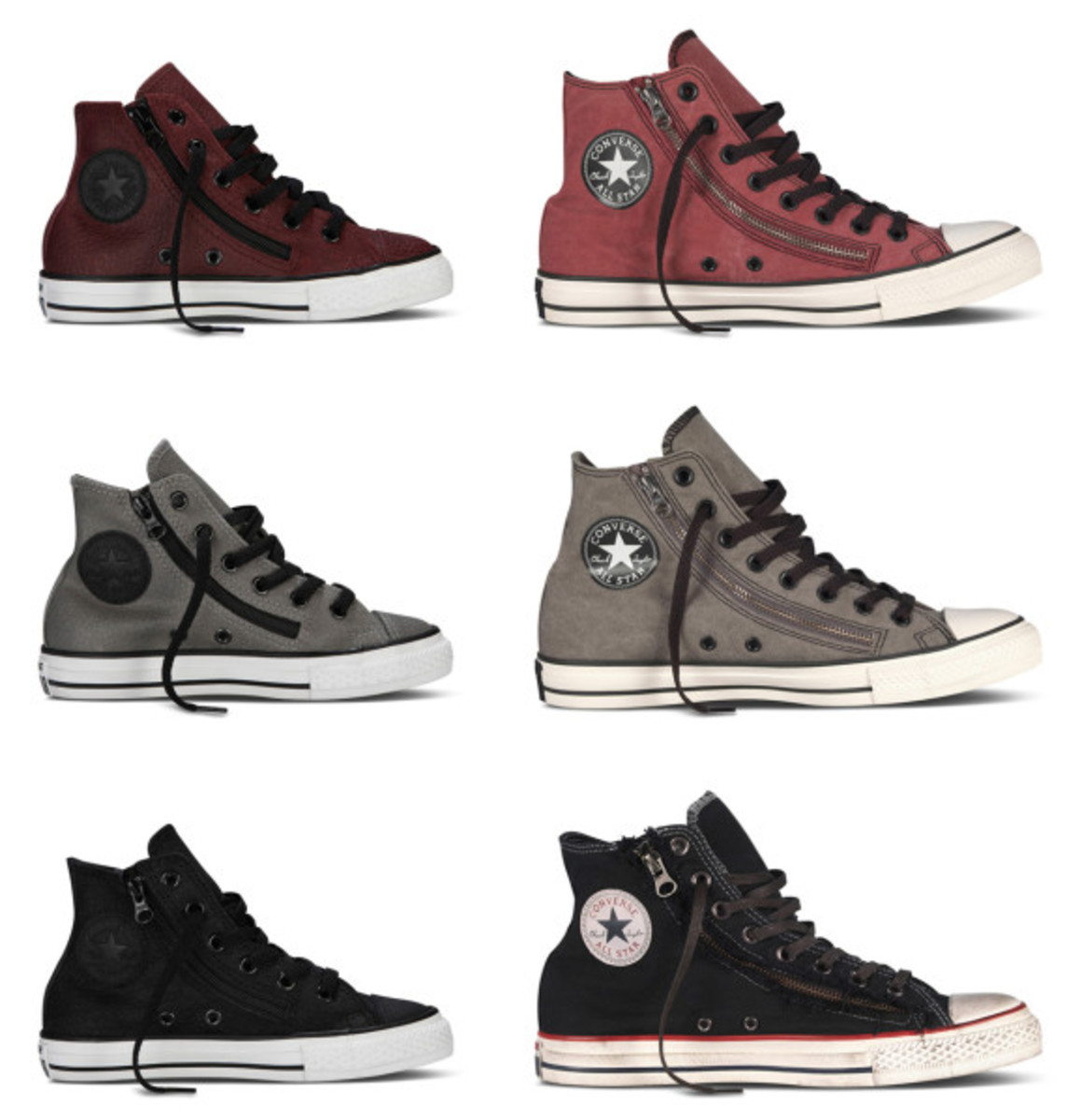 CONVERSE Chuck Taylor All Star Double Zip - Fall 2013 Collection - 0