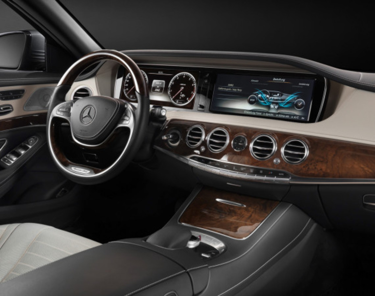 2014 Mercedes-Benz S-Class - New Flagship Model To Redefine Luxury - 14