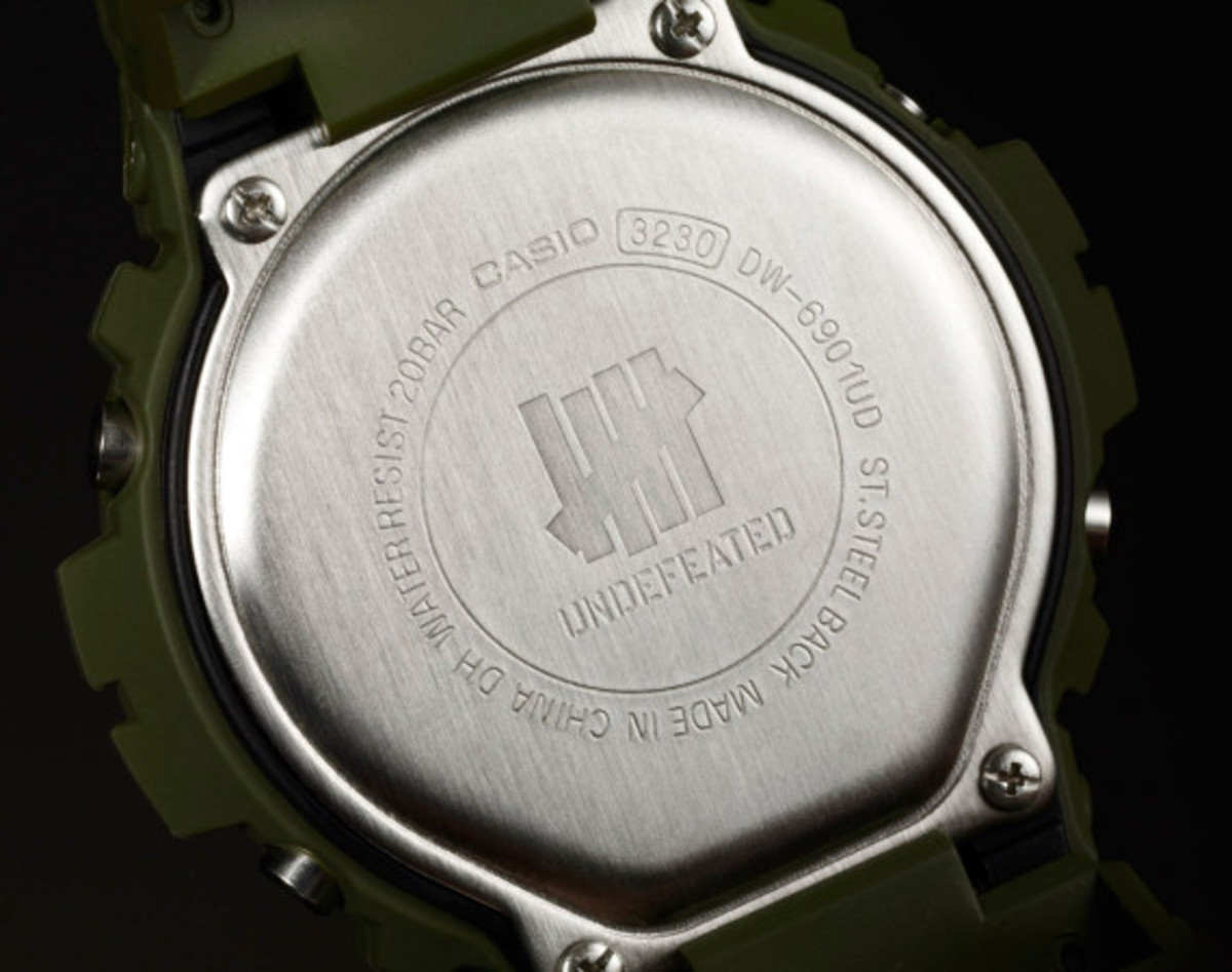 UNDFTD x Casio G-Shock 30th Anniversary DW-6901UD-3 Watch | Available Now - 4