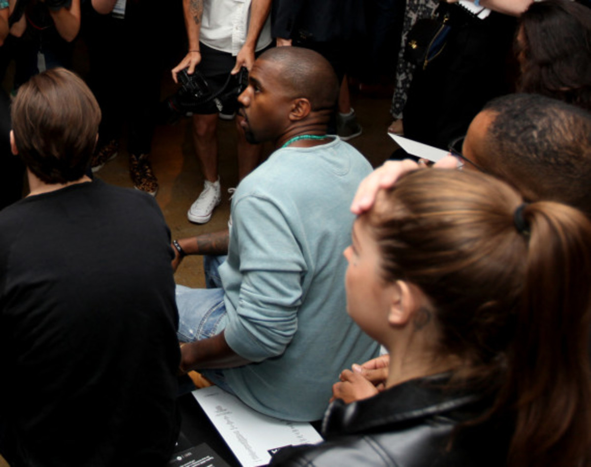 Fresh Celeb: Kanye West Front Row at HOOD BY AIR Runway Show - 2