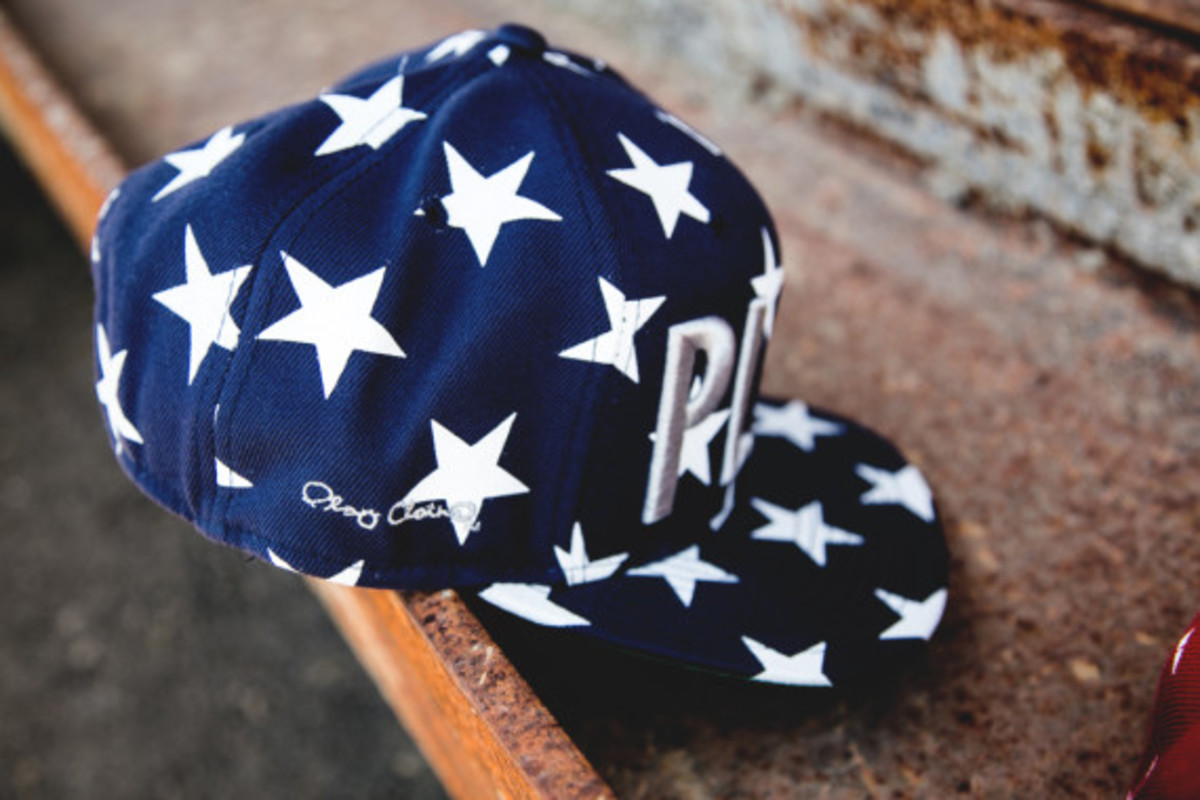 """Play Cloths - """"Past Time"""" Snapback Caps - 4"""