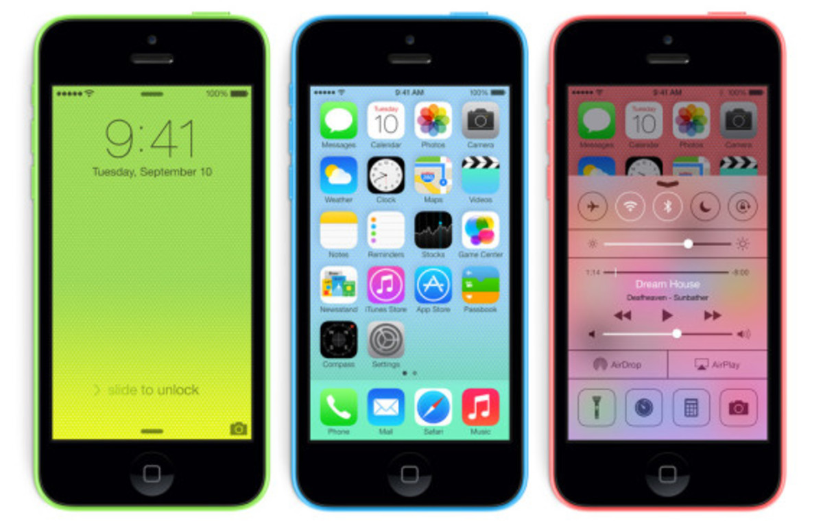 Apple iPhone 5C & 5S | Available Now - 5