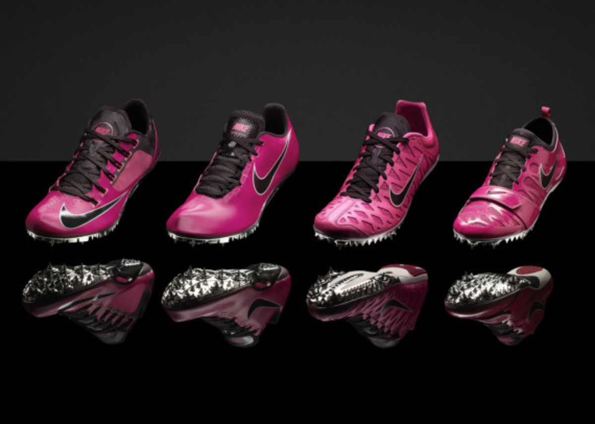 """Nike """"Gamma Blue"""" & """"Pink Foil"""" Collections for Track & Field Championships in Moscow - 0"""