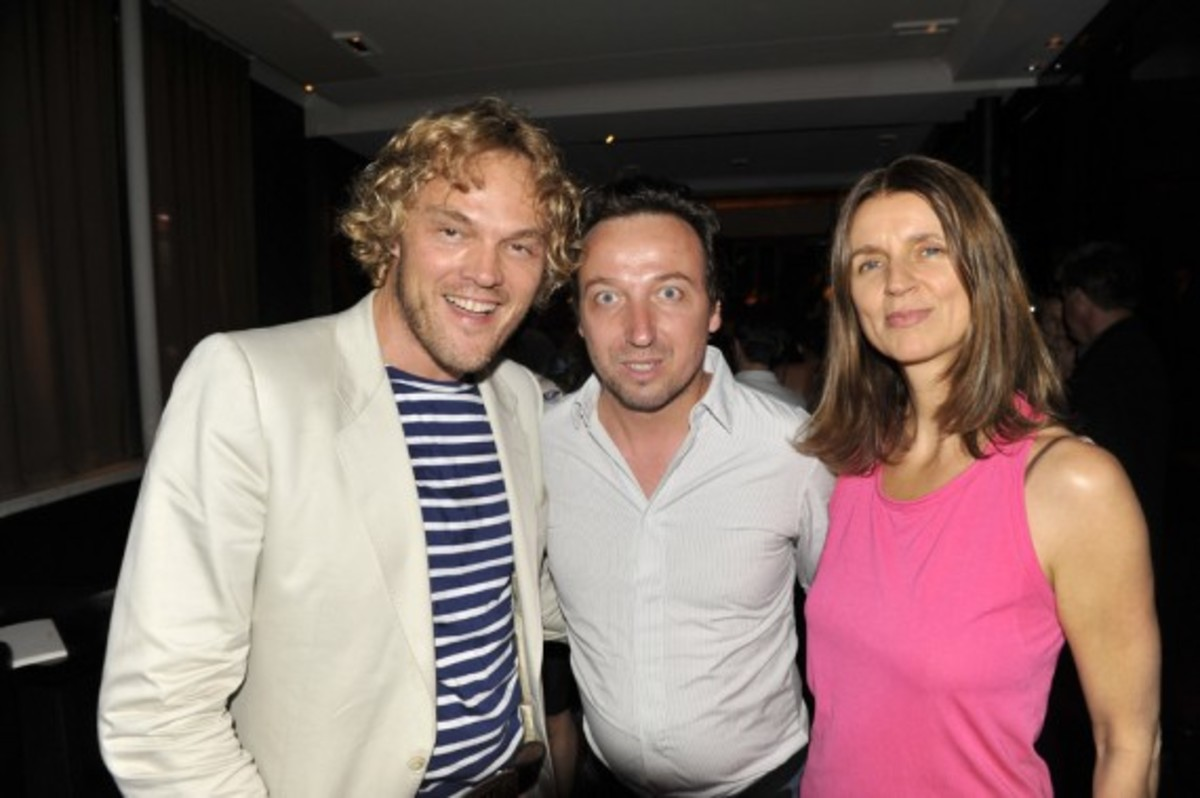Nike x LIVESTRONG - STAGES Art Exhibition Opening Event - Peter Dundas, Emmanuel Perrotin, & Karla Otto