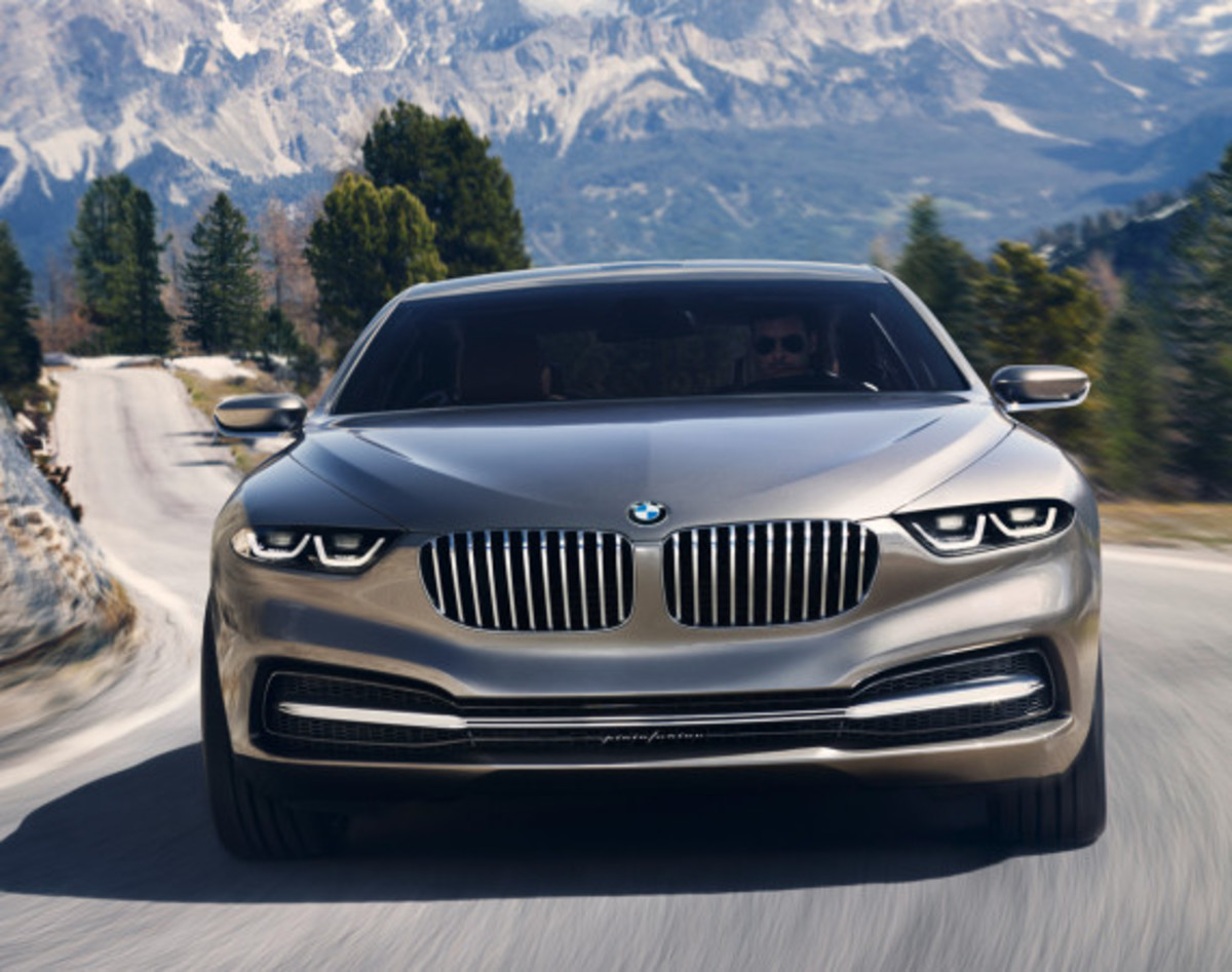 BMW Pininfarina Gran Lusso Coupé - Officially Unveiled - 19