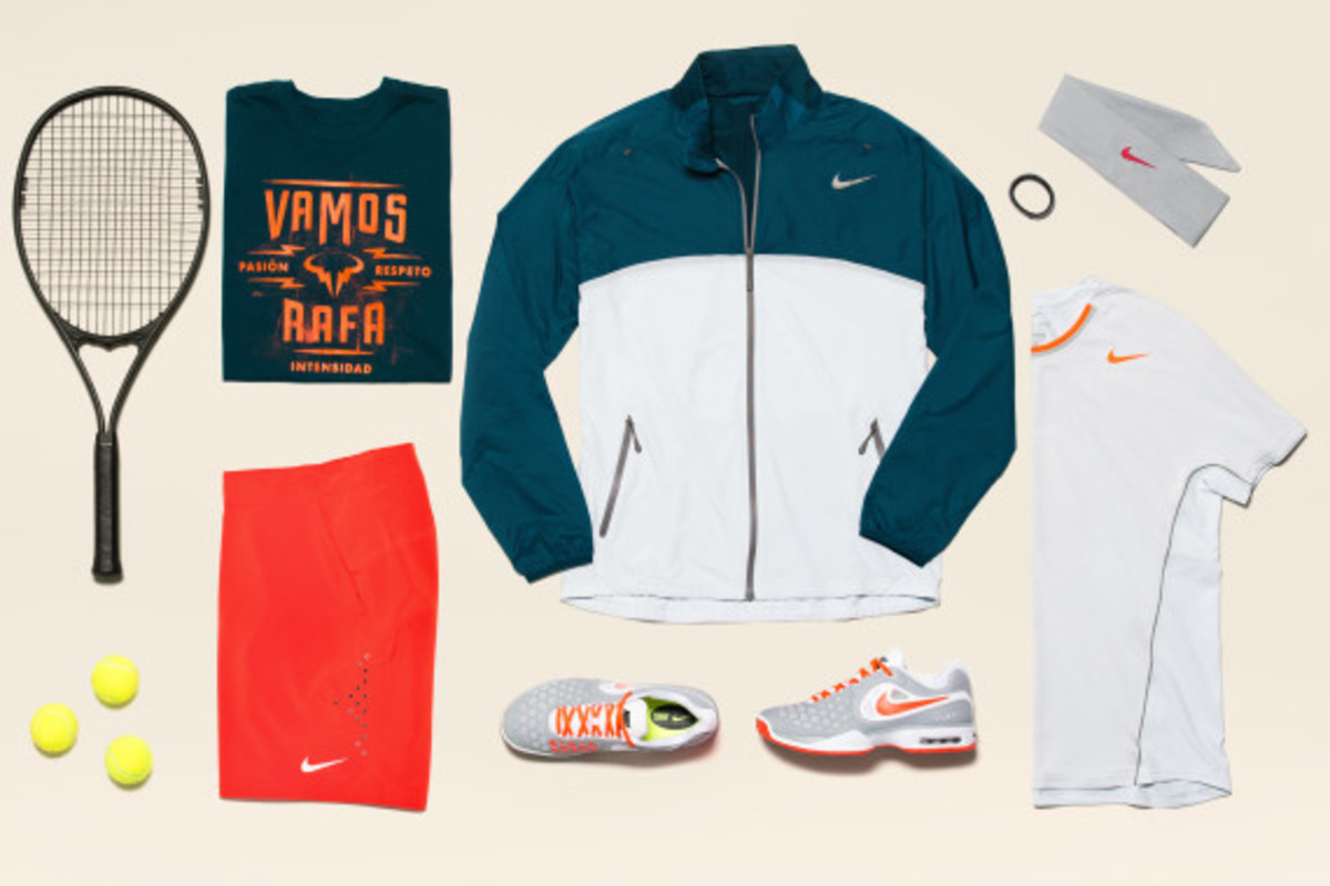 Rafael Nadal Nike 2013 French Open Collection - 2