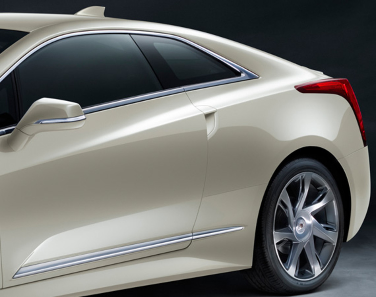 "2014 Cadillac ELR - Saks Fifth Avenue ""White Diamond"" Special Edition - 3"