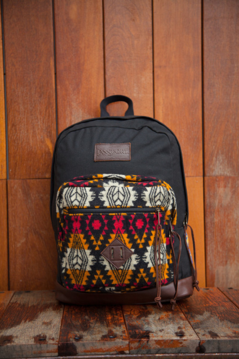 """Benny Gold x JanSport x Pendleton - Spring 2014 Limited Edition """"Right"""" Pack - 2"""
