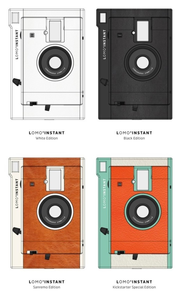 Lomography Lomo'Instant Camera - The World's Most Creative Instant Photography System - 2