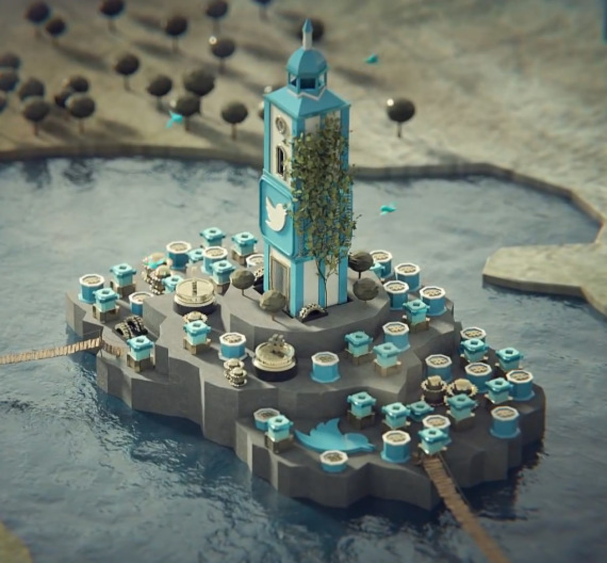 """HootSuite """"A Game of Social Thrones""""   Inspired by Game Of Thrones Opening Sequence - 1"""