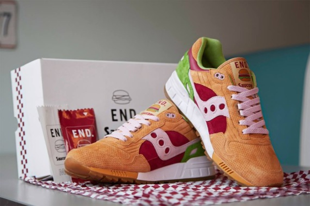 "END. x Saucony Shadow 5000 – ""Burger"" 