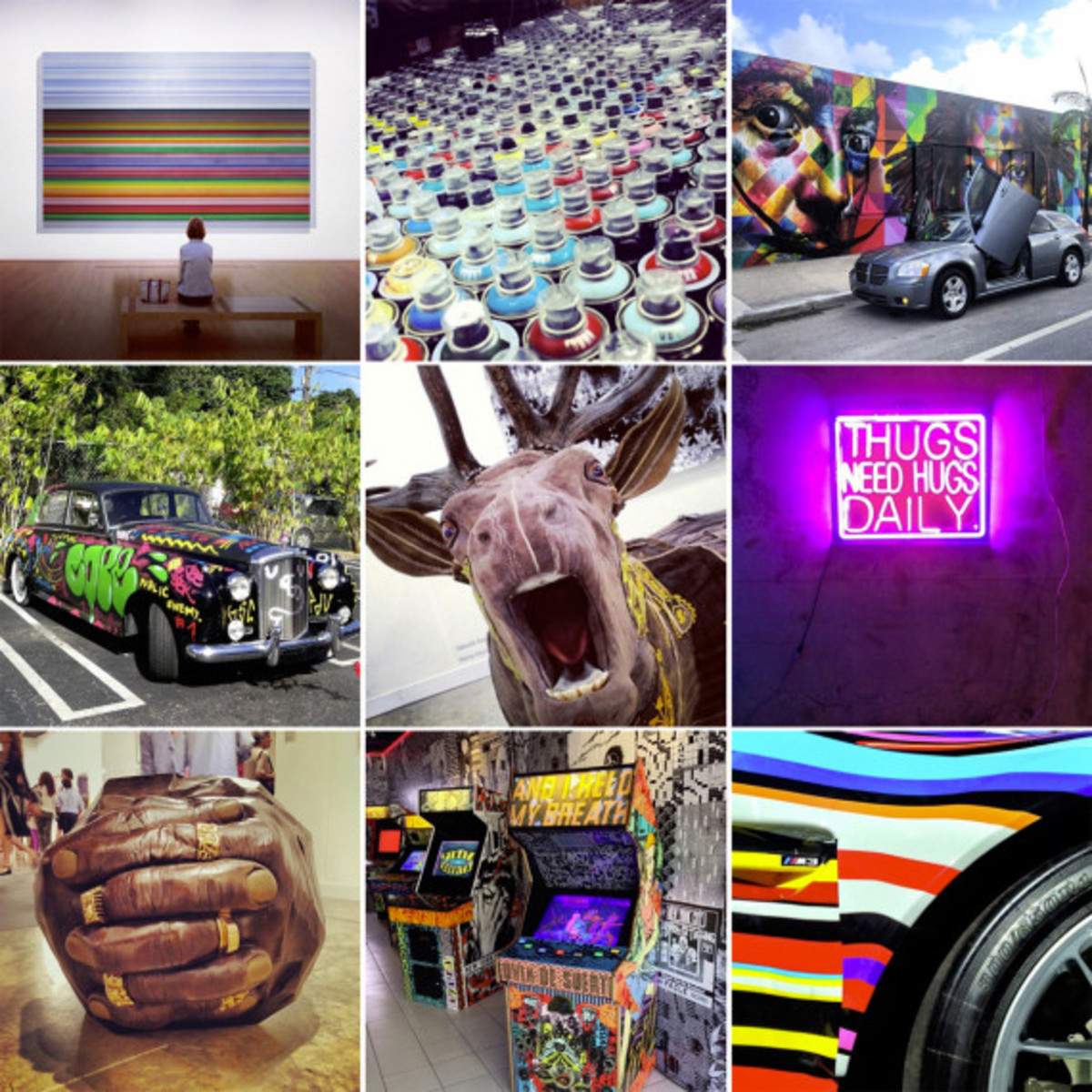 The Top 10 Instagram Photos From Art Basel 2013 - 0
