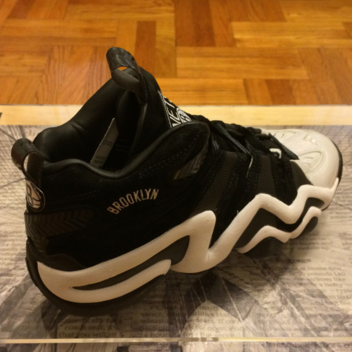 "adidas Crazy 8 - ""Brooklyn Nets"" Promo Pack - 7"
