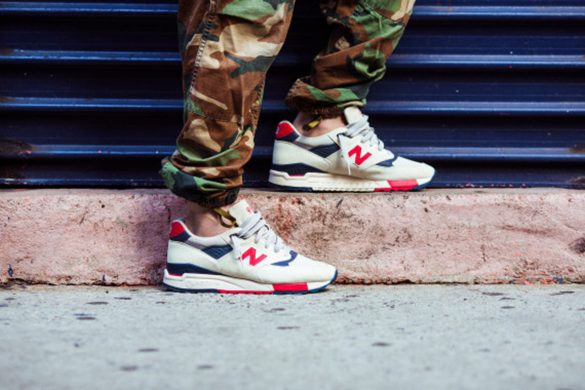 J.Crew x New Balance 998 Independence Day - 2
