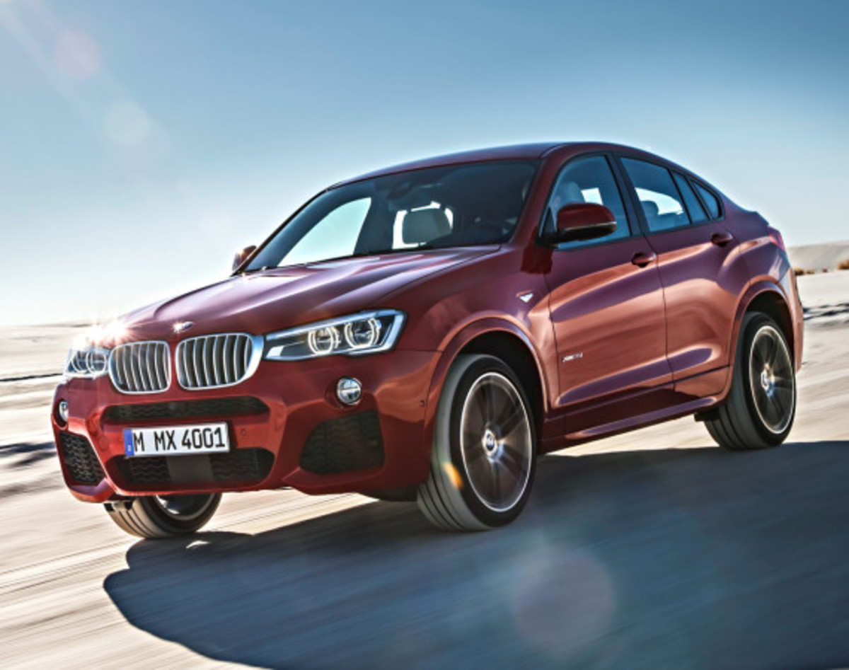 BMW X4 Sports Activity Coupe - Officially Unveiled - 8