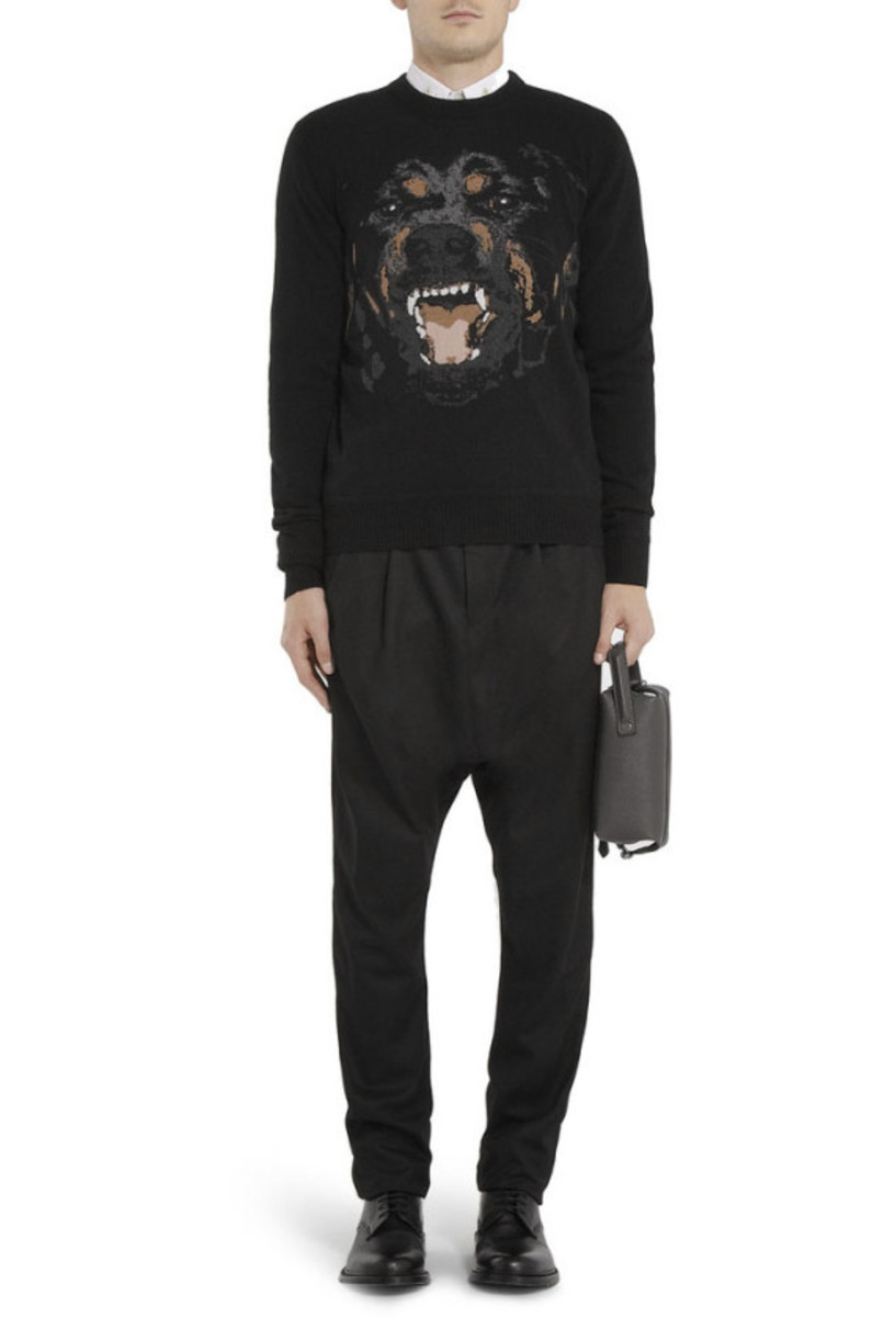 GIVENCHY – Rottweiler Print Cotton Sweatshirt - 6