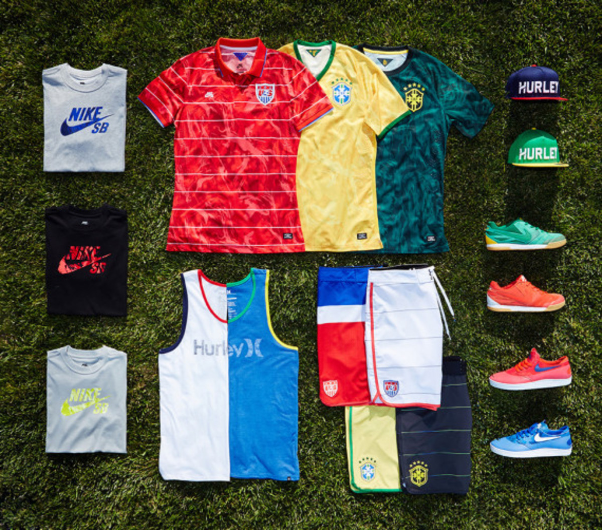 "Hurley x Nike SB - ""National Teams"" Collection for 2014 FIFA World Cup - 0"