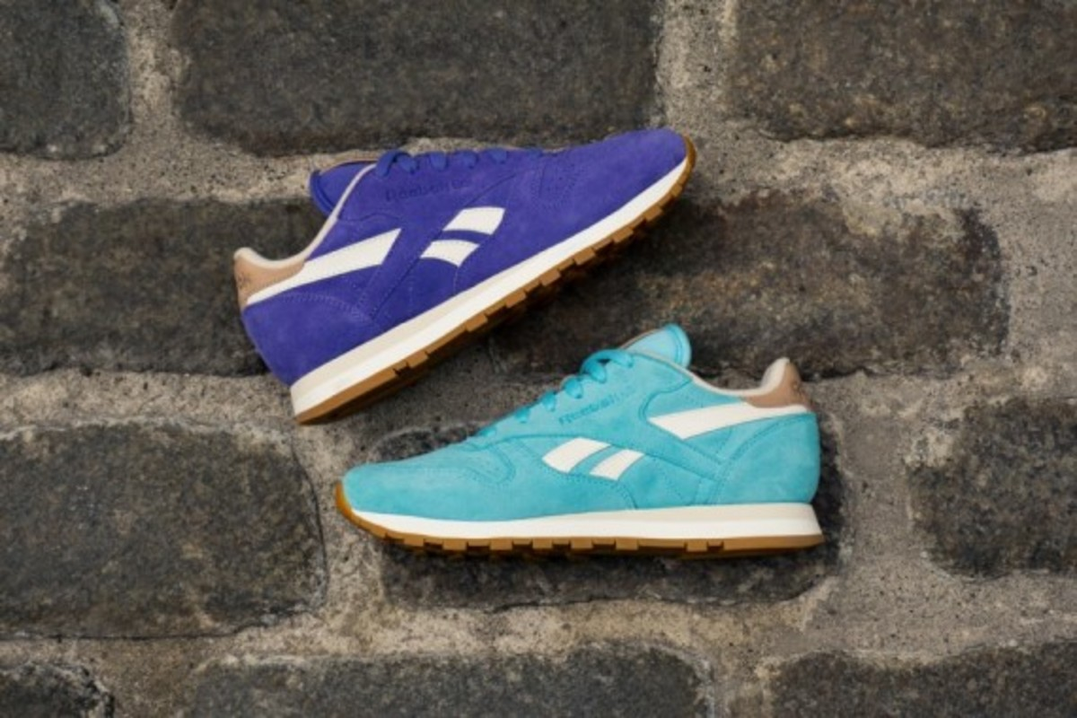 "Reebok Classic Leather - ""Summer Suede"" Pack - 6"