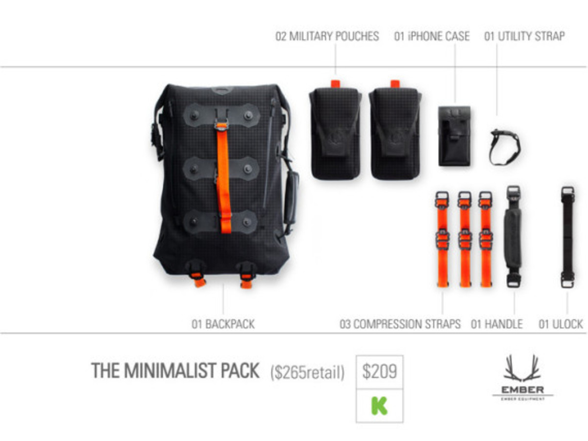 Modular Urban Backpack by EMBER EQUIPMENT - 10