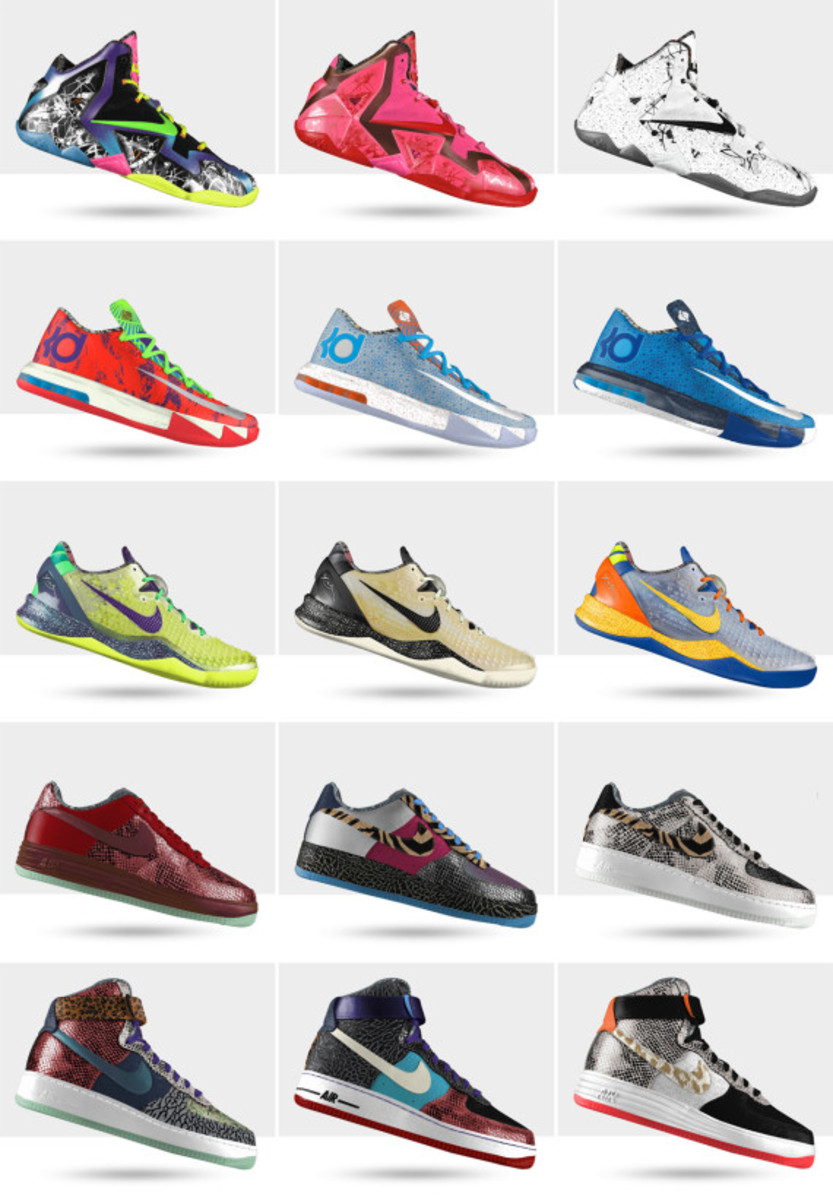 new arrival 33d4c 52e4b NIKEiD NOLA Gumbo Collection for 2014 NBA All-Star Game   Available Now