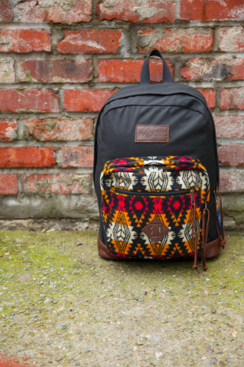 """Benny Gold x JanSport x Pendleton - Spring 2014 Limited Edition """"Right"""" Pack - 8"""
