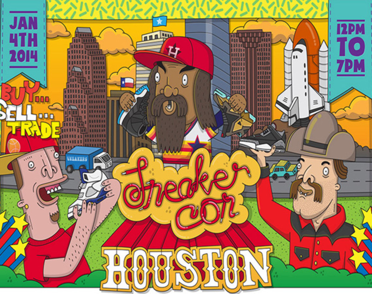 Sneaker Con Houston - Saturday, January 4th, 2014 - 0