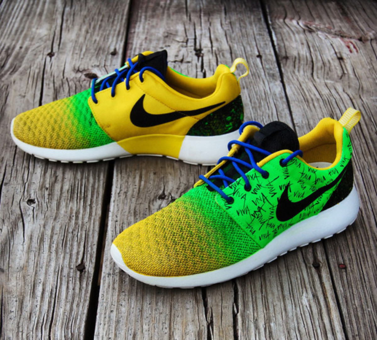 "Nike Roshe Run - ""Viva Brazil"" Customs by Gourmet Kickz - 0"