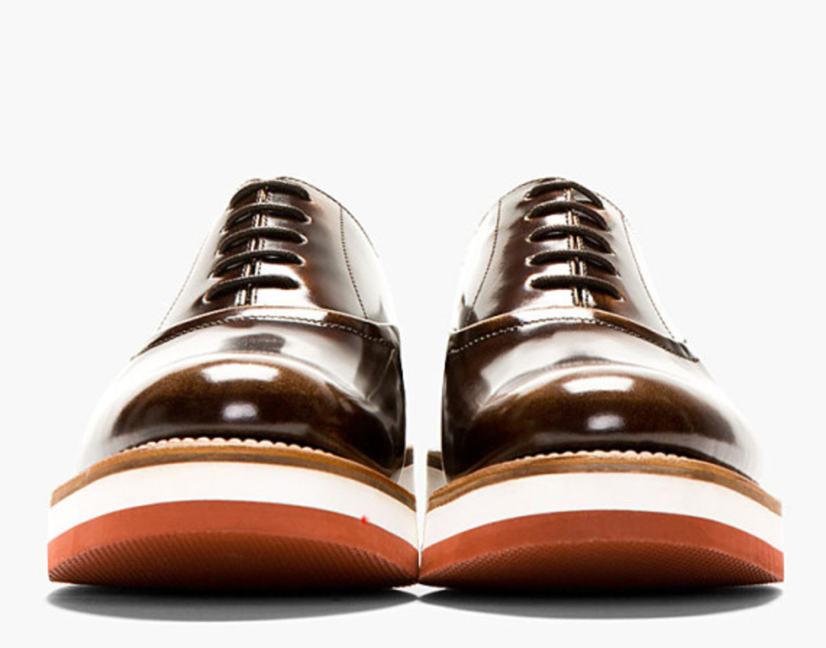 GRENSON - Sammy Oxford Shoe in Buffed Brown Leather - 2