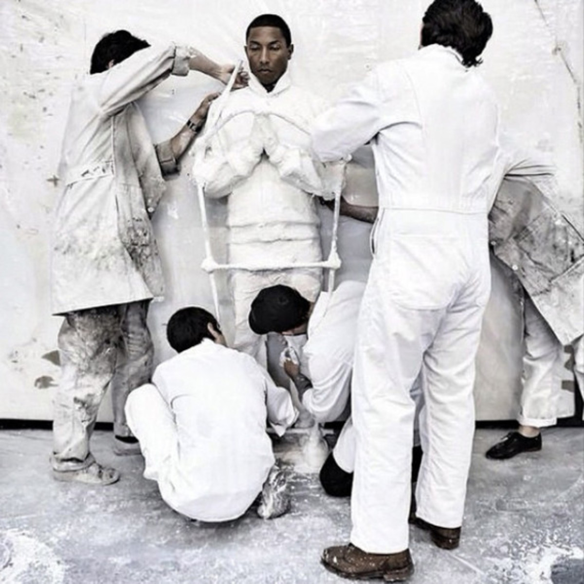 "Preview of Daniel Arsham and Pharrell Williams' Collaboration for ""G I R L"" Exhibition - 2"