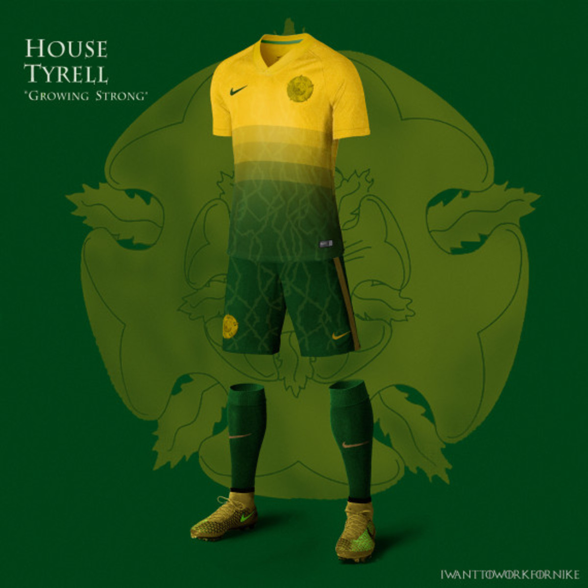 Game of Thrones-inspired Nike Soccer Kit Concepts by Nerea Palacios - 8