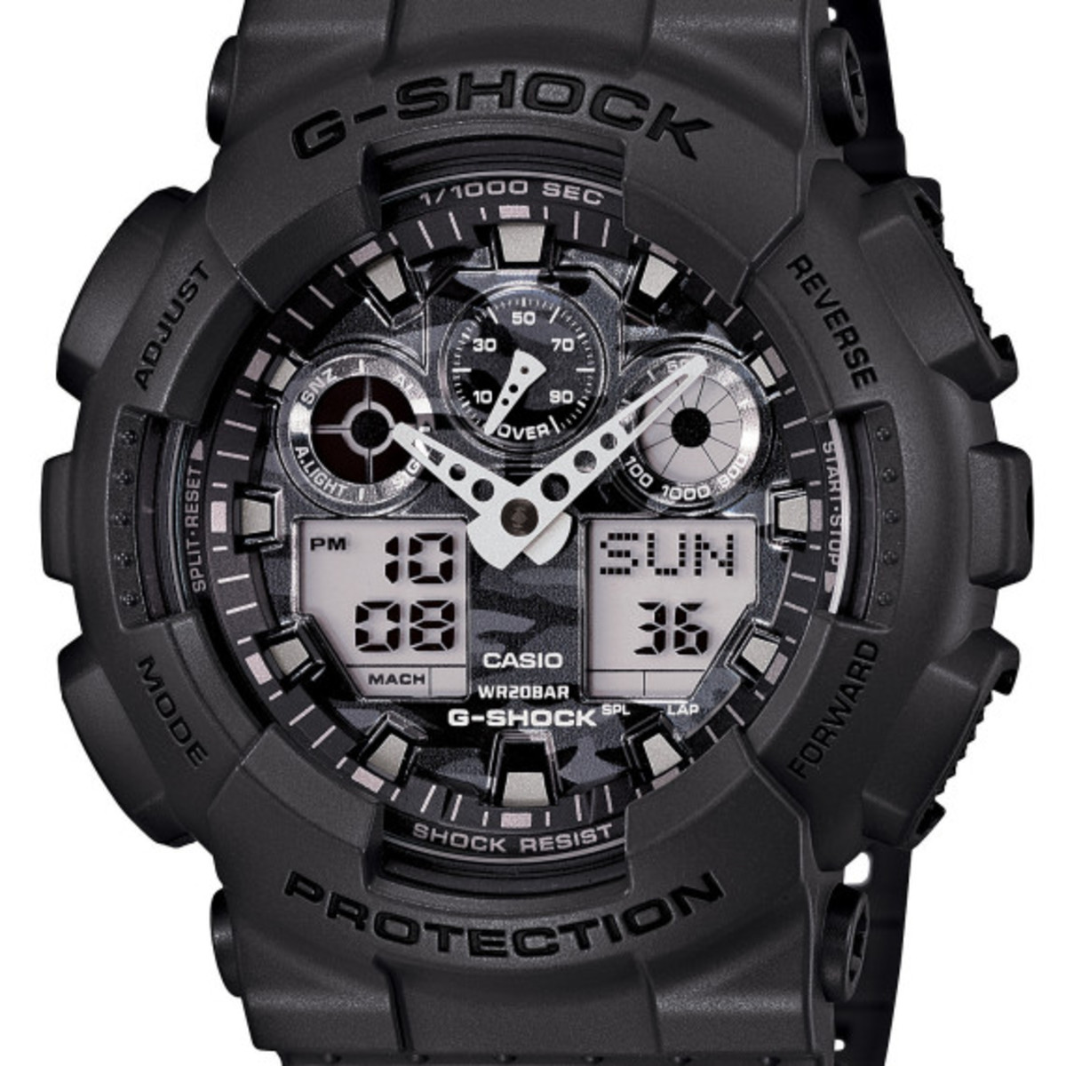 Casio G-Shock - Camo Plated Dial Semi Glossy Series - 6