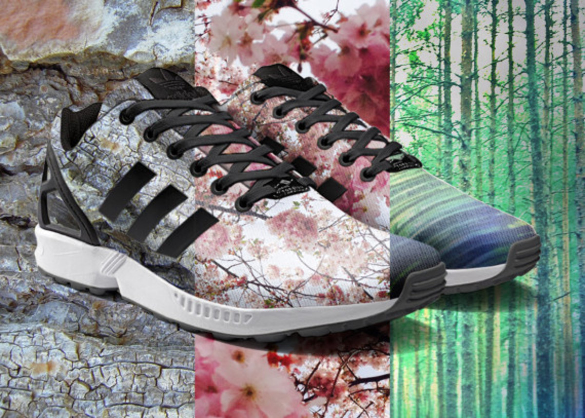 adidas ZX Flux To Become mi Adidas Design Option with Photorealistic Print - 11