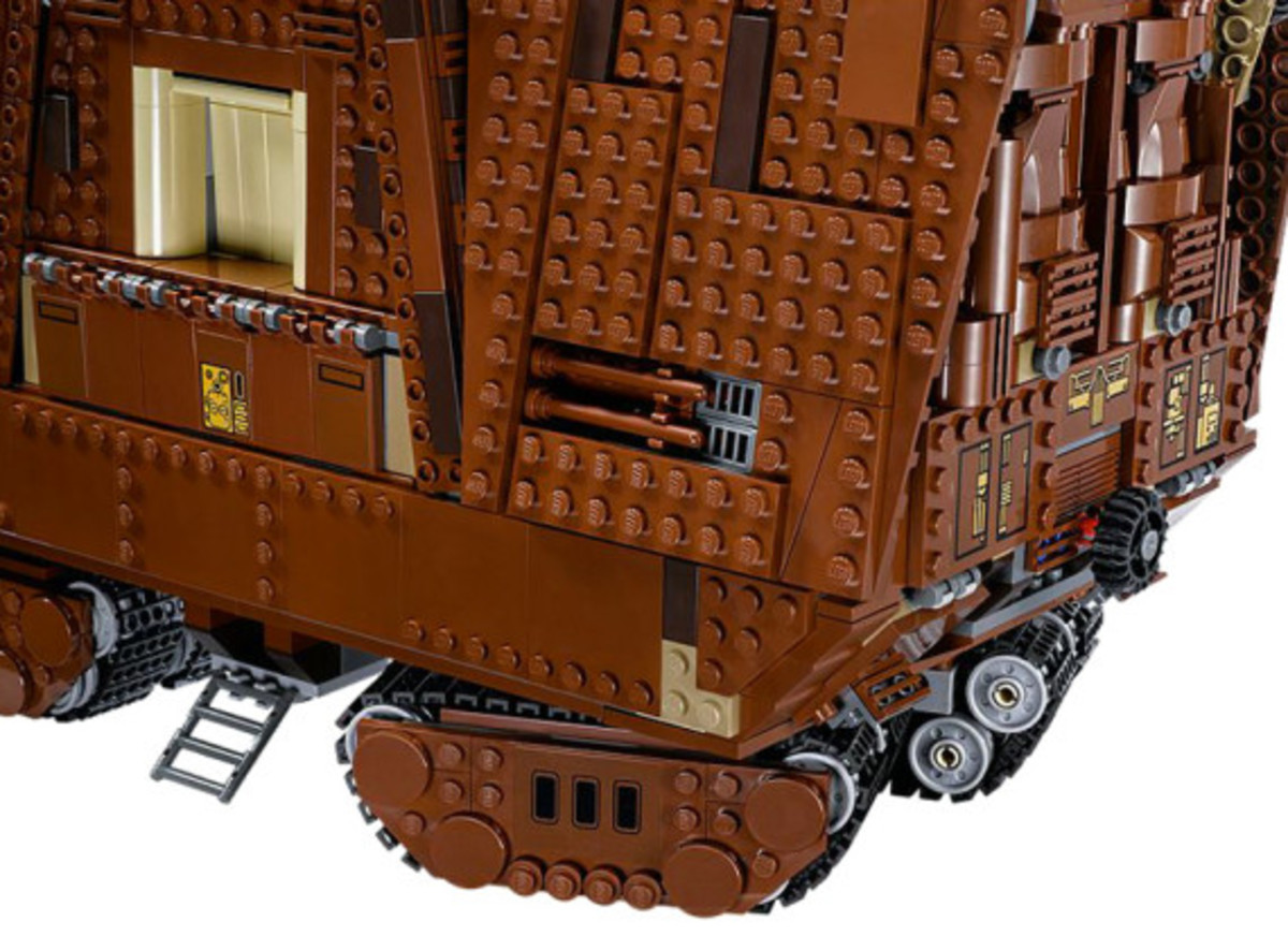 LEGO x Star Wars - Jawas Sandcrawler | For May The 4th Day - 3
